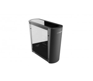 In Win 915 Aluminium Full Tower Pc Case Black Color With Tinted Tempered Glass Side Panel. E-atx