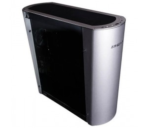 In Win 915 Aluminium Full Tower Pc Case Silver Color With Tinted Tempered Glass Side Panel. E-atx