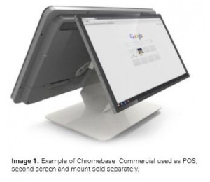 "Aopen Chromebase Commercial 22"" All In One Multi Touch Display Wt22m-fbg Chrome Os 32gb Intel N2930"
