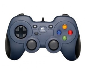 LOGITECH F310 GAMEPAD 10 programmable buttons, L&R analog triggers, programmable analog mini-joysticks
