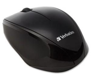 Verbatim Multi Trac Black Mouse Blue Led, Wireless Optical 97992