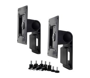 Ergotron Dual Monitor Tilt Pivot Kit, Black 98-062-200