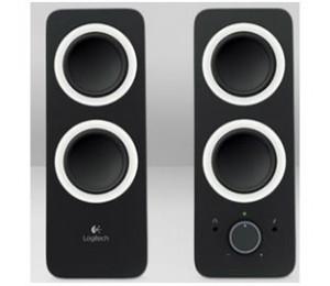 Logitech 980-000850(z200) Z200 Multimedia Speakers - Midnight Black