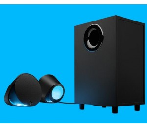 Logitech G560 Lightsync Pc Gaming Speakers Audio Visualise R Rgb Lighting Dts-1yr Wty 980-001303