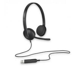 Logitech H340 Usb Headset - Black 981-000477