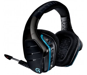 LOGITECH G933 PERSEUS FIRE WIRELESS SOURROUND SOUND GAMING HEADSET - 2YR WTY 981-000600