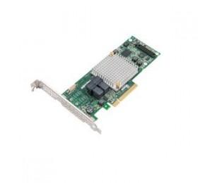 Adaptec 8805 Sas/sata 12gb/s Pcie Gen3 Raid Adapter. Low-profile/md2 8 Internal Ports 0 External Ports 1024mb Onboard Ddr3 X8 Pci-express Raid 2277500-r