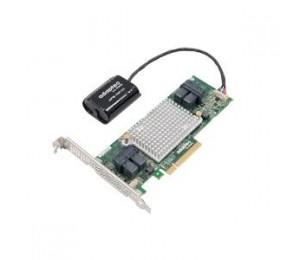 Adaptec 81605zq Sas/sata 12gb/s Pcie Gen3 Raid Adapter Maxcache Plus. Low-profile/md2 16 Internal Ports 0 External Ports 1024mbonboard Ddr3 X8 2281600-r