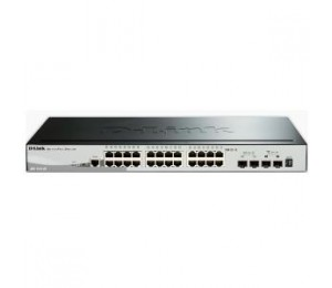 D-LINK 28-Port Gigabit Stackable Smart Managed Switch including 4 10G SFP (DGS-1510-28X)