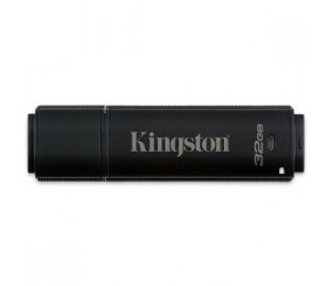 KINGSTON 32GB DT4000 256bit AES Encryption FIPS 140-2 (Management Ready) DT4000M-R/32GB
