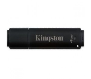KINGSTON 4GB DT4000 256bit AES Encryption FIPS 140-2 (Management Ready) DT4000M-R/4GB