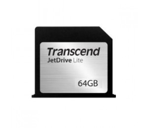 Transcend 64GB JetDrive Lite, MacBook Pro Retina 15in Mid 2012-Early 2013 TS64GJDL350