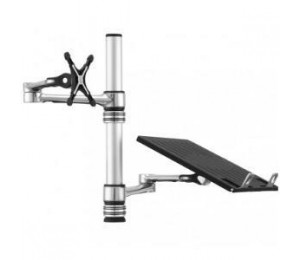 ATDEC Visidec Focus - Articulated Arm for Monitors & Notebook Tray Combo VF-AT-NBC