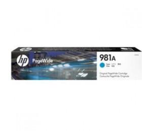 HP 981A CYAN ORIGINAL PAGEWIDE CARTRIDGE J3M68A