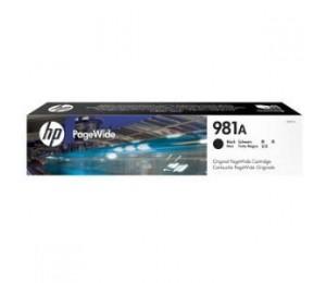 HP 981A BLACK ORIGINAL PAGEWIDE CRTG J3M71A