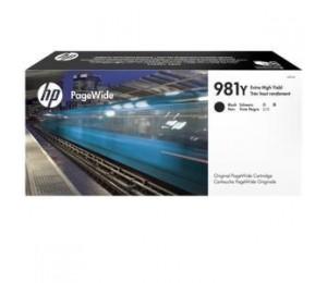 HP 981Y BLACK ORIGINAL PAGEWIDE CRTG L0R16A