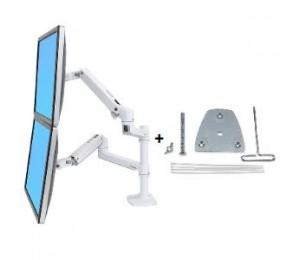 ERGOTRON LX STACKING ARM WHITE INC GROMMET MOUNT 45-492-216+98-035