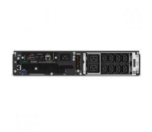 APC - SCHNEIDER APC SMART-UPS SRT 3000VA RM 230V NETWORK CARD SRT3000RMXLI-NC