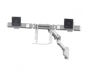 ERGOTRON HX WALL DUAL MONITOR ARM WHITE 45-479-216