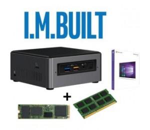 INTEL I.M. BUILT 7GEN I3 BOXNUC7I3BNH NUC 8GB DDR4 M.2 128GB SSD WIN 10 PRO FULLY BUILT BONUS