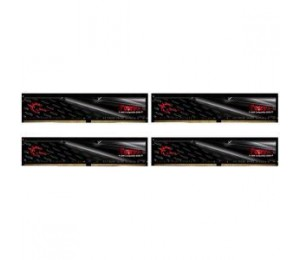G.SKILL 16GB X 4 PC4-19200 / DDR4 2400 MHZ 1.2V FORTIS F4-2400C15Q-64GFT