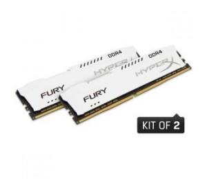 KINGSTON 32GB 2400MHZ DDR4 CL15 DIMM (KIT OF 2) HYPERX FURY WHITE HX424C15FWK2/32