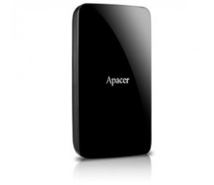 """Apacer Ac233 1tb Hdd Usb 3.0 2.5"""" Ext Hard Disk, Black, Retail Package"""