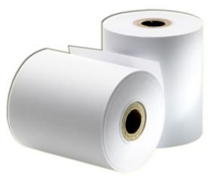 Aclas Thermal Paper Roll 57x57mm 50 Rolls (1 Box) Bc/f/prp057-paper-50