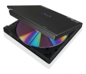 Pioneer BDR-XD05TB BLK Clamshell Disc Load 8X Slim Ext Portable USB3.0 Blu-Ray Writer Retail with