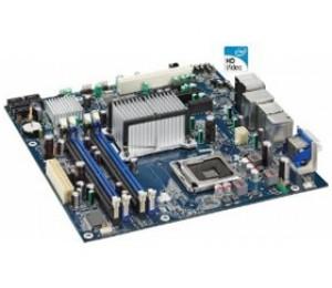 Intel G45/ 1333FSB/ uATX/ PCIEx16/ VGA/ GbLAN/ DDR2/ HDMI/ DV