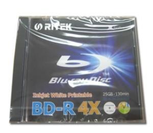 Ritek Blu-ray BD-R 25GB 4X BMDRITBLU-REC01