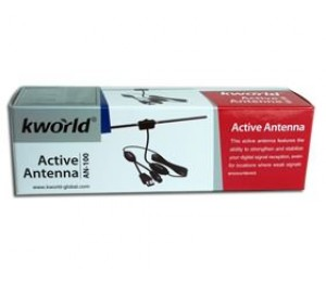 KWorld AN-100 Active Antenna USB BS/ D/ AN100
