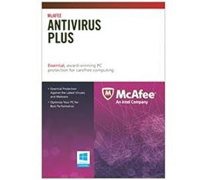 McAfee Anti-Virus Plus Activation Card - 1PC 1 Year OEM 146146