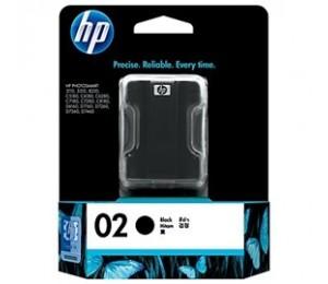 Hp 02 Ink Cartridge Black C8721wa