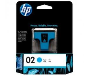 Hp 02 Ink Cartridge Cyan C8771wa