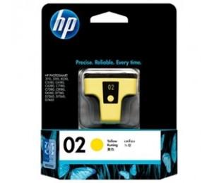 Hp 02 Ink Cartridge Yello C8773wa
