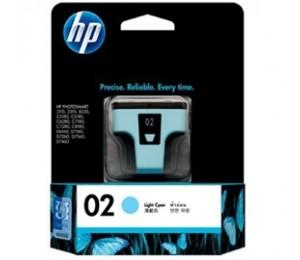 Hp 02 Ink Cartridge Light Cyan C8774wa