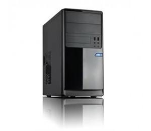 Casecom CM13 Black mATX w/ 550W 1x USB3.0+1xUSB2.0, HD Audio CACC-CM13BK550W