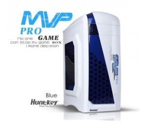 Huntkey Mvp Pro Gaming Computer Chassis - Blue (no Psu Included) Cashunmvpprobl
