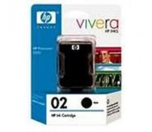 Hp 02 Ink Cartridge Twin Pack Black Ce015aa