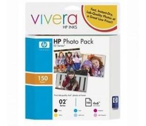 Hp 02 Photo Value Pack Advance Cg849aa