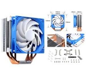 Silverstone AR03 14CM Cooler Multi Socket, 6 Heatpipe G530AR03S410010