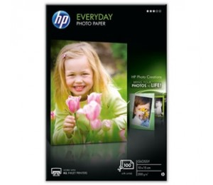 Hp Cr757a Hp Everyday Glossy Photo Paper-100sht 10x15cm