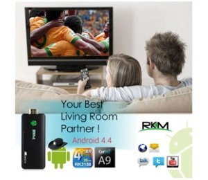 Rkm Quad Core Android Pc Mk802 Iv 8gb Elerkmmk802iv8g