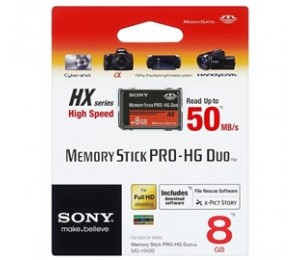 Sony Memory Stick Pro-hg Duo Hx Rev.b 8gb 50m/ S Ffcson8gb50mhgx-1