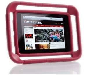 Gripcase - I1mini-red Gripcase For Ipad Mini - Red