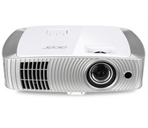 Acer H7550st + 3d Glasses 1080p Short Throw Projector, 3000 Ansi, 10, 000:1, Hidden Wireless Design