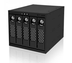Icy Box Ib-555ssk, 5bay Dual Channel Sata/ Sas Backplane Hddicy555ssk5by