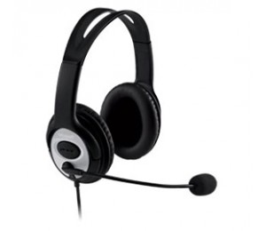 Microsoft Lifechat Lx-3000 Headset Windows Usb Noise Cancelling Mic Black (retail) Jug-00017