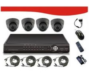 "Signageit 4ch Combo Kits Includes 4* 1/ 4""sharp Rj2421fa Ccd 420tv Line, Pal:500(h)x582(v), 24*ir"